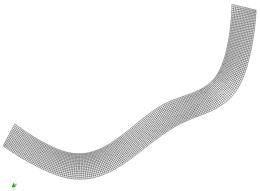 Create grid shape solving Poisson equation] — iRIC User's